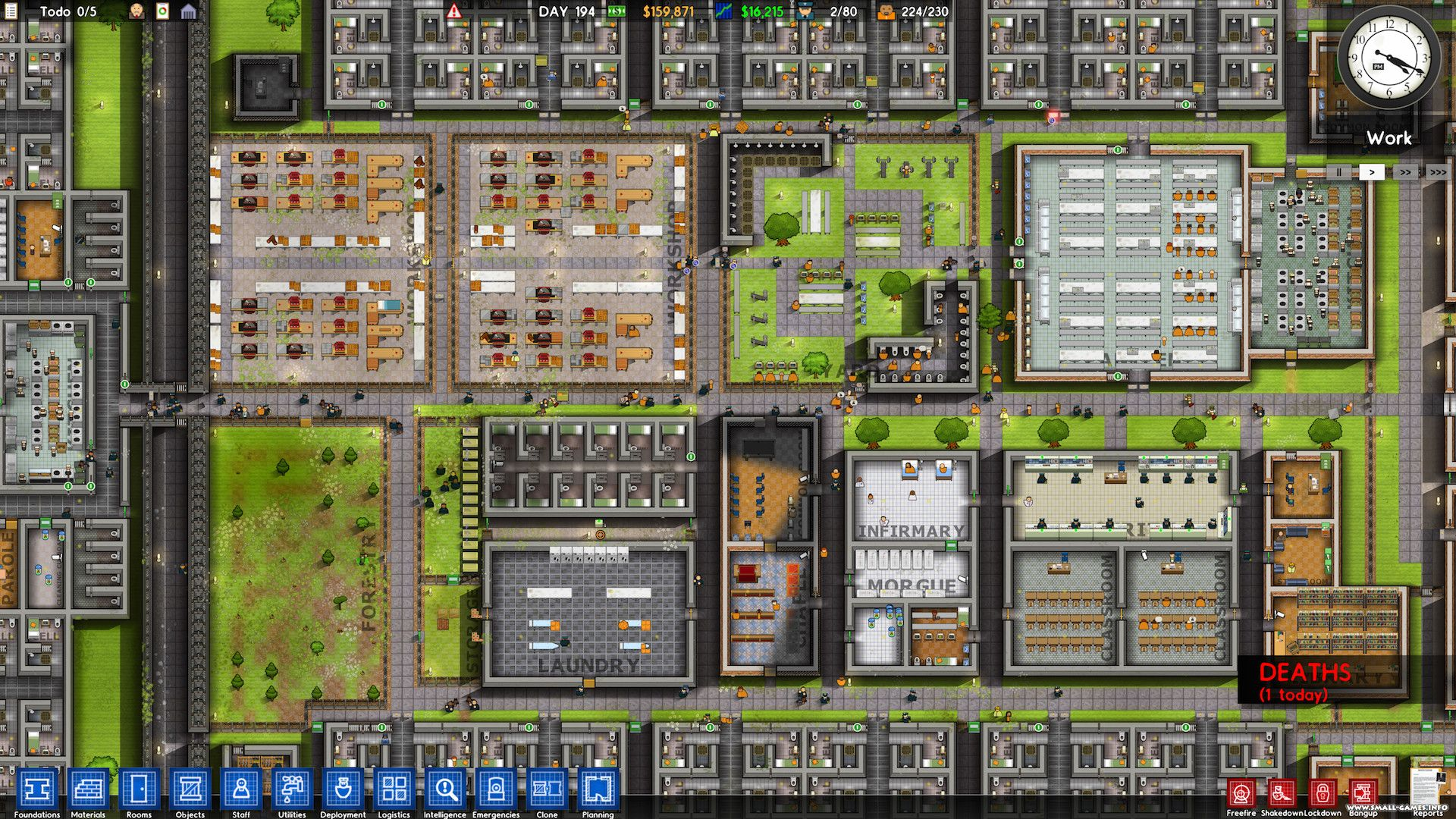 Prison architect [update 17] + multiplayer v4f / + gog v15b.