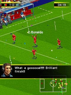 Игра реальный футбол 2015 для телефона нокиа. Скачать java игру.