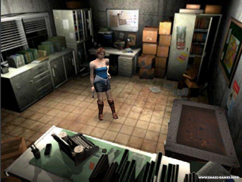 Resident Evil 3 Nemesis (RUS-Vector) .