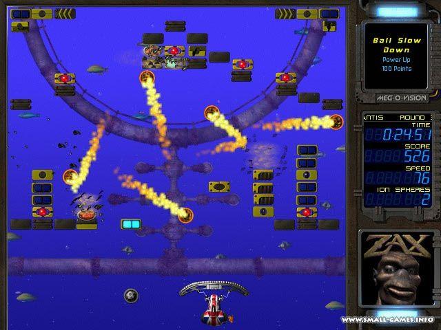 Free download Ricochet Xtreme screenshot. Скачать бесплатно полную версию Ricochet