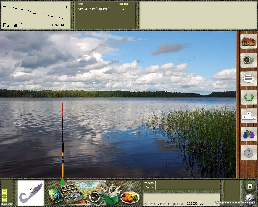 озеро кувшинное рыбалка