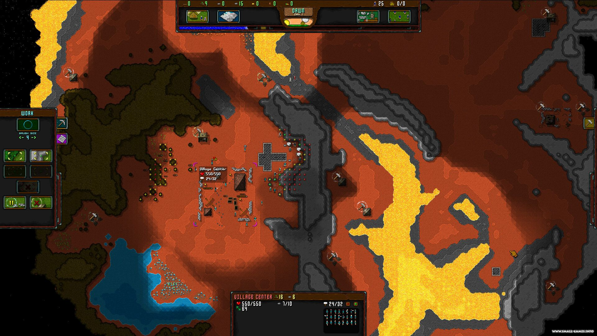 Rise to ruins [indev 32 unstable 1c] [steam early access] / retro.