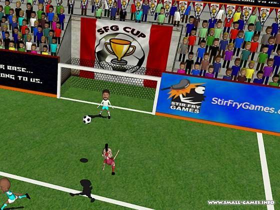 لعبة كرة القدم الرائعه SFG Soccer بحجم 51 ميجا كامله على