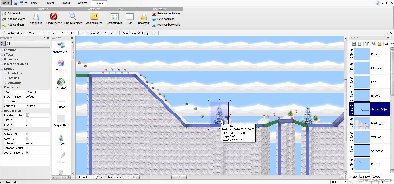 Scirra Construct v0.99.96 (Full)