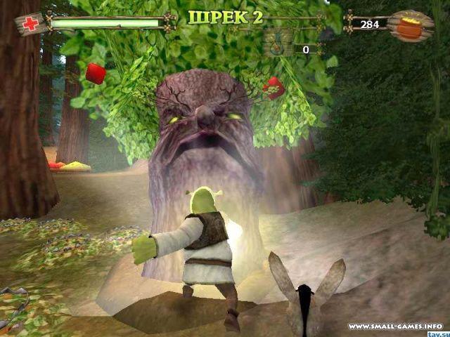 Скачать Игру Shrek 2 Team Action