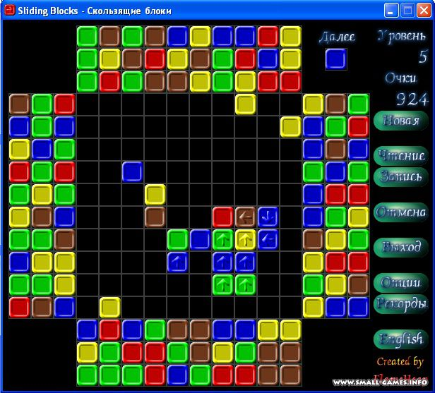 Игра скользящие блоки скачать бесплатно на компьютер