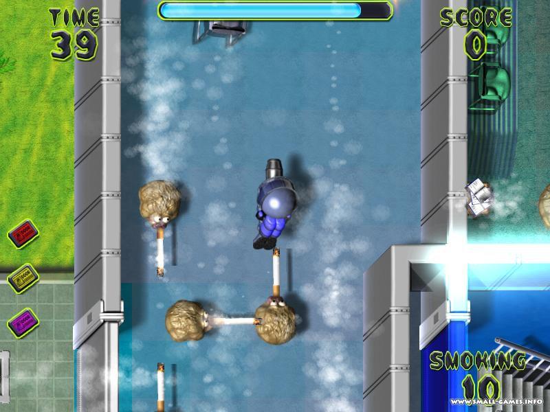 Smoke Attack Игру