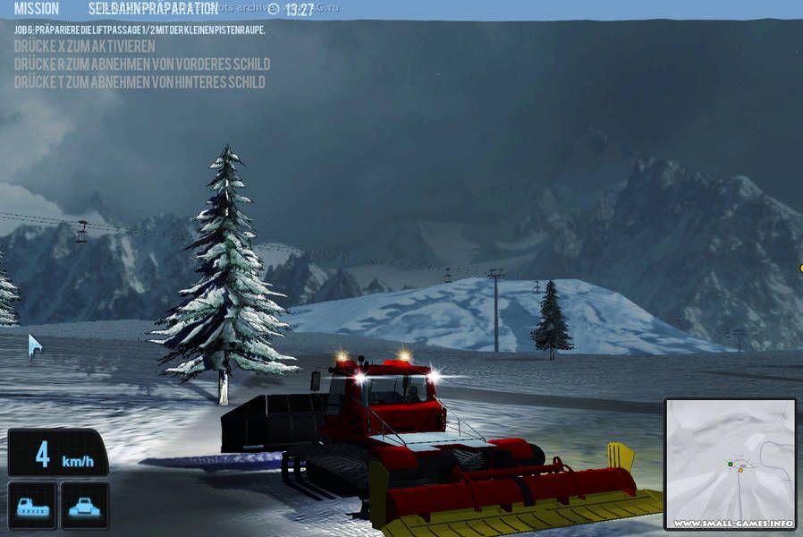 Симулятор снегоуборочной машины скачать торрент