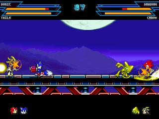Игру Sonic Battle