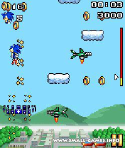 Игру Sonic Jump