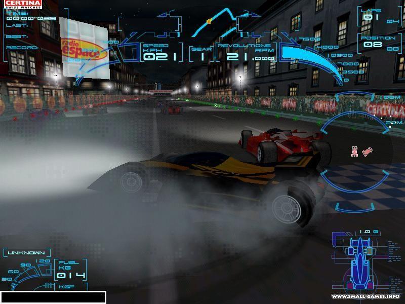 Speed challenge jacques villeneuve s racing vision
