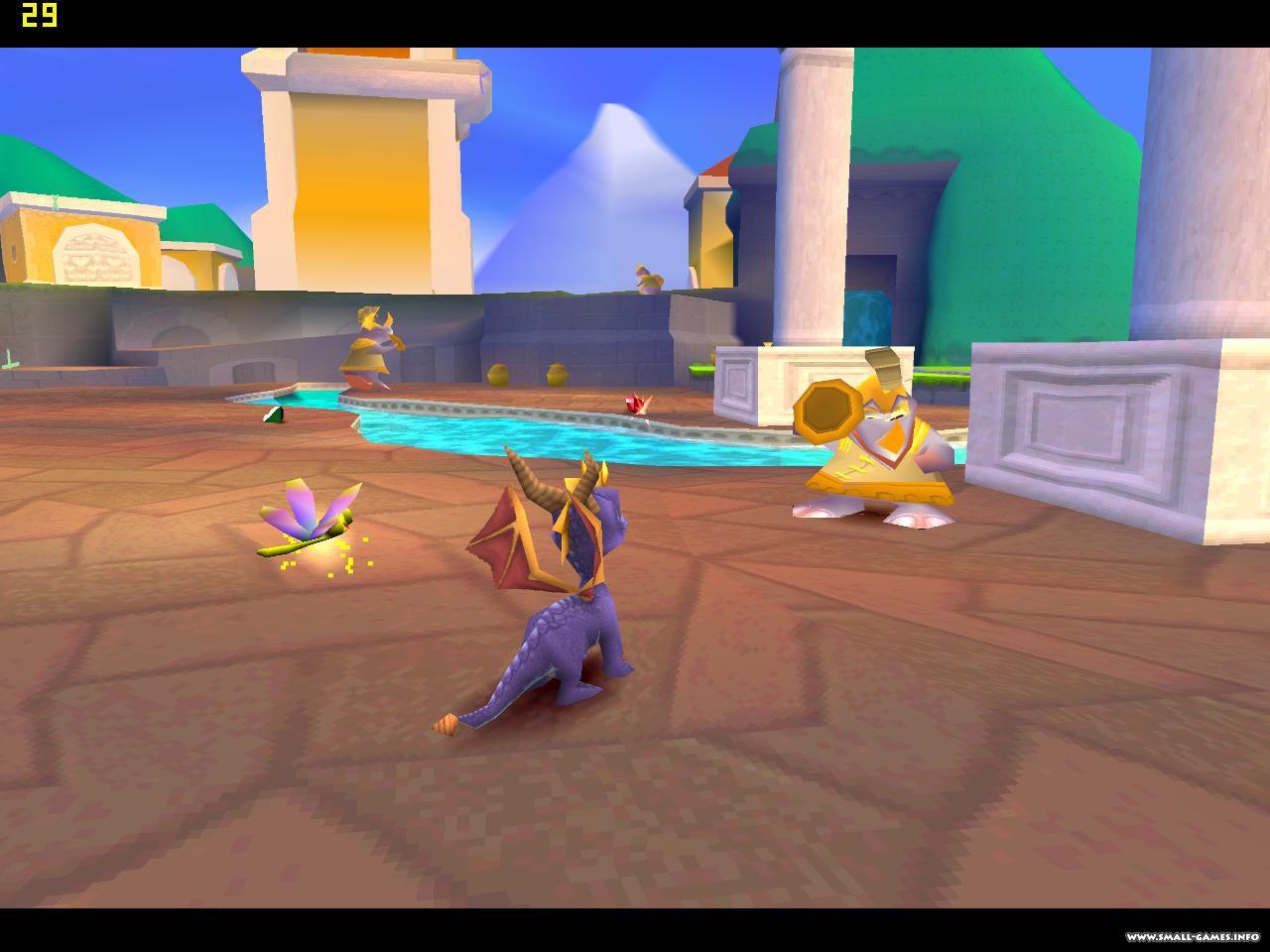 Spyro 1 скачать на пк