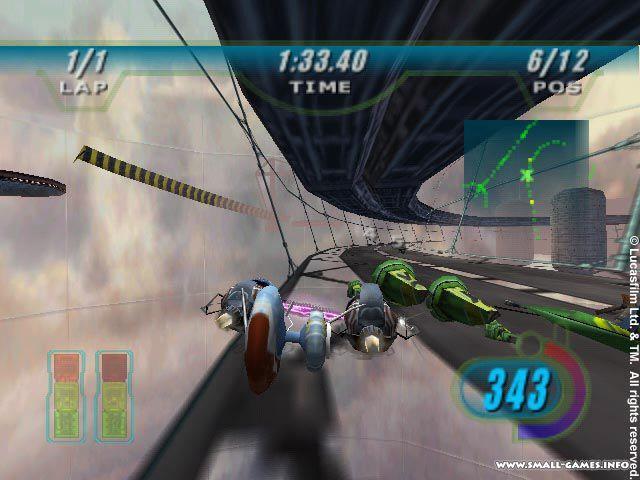 Star Wars Episode 1: Racer Download Game