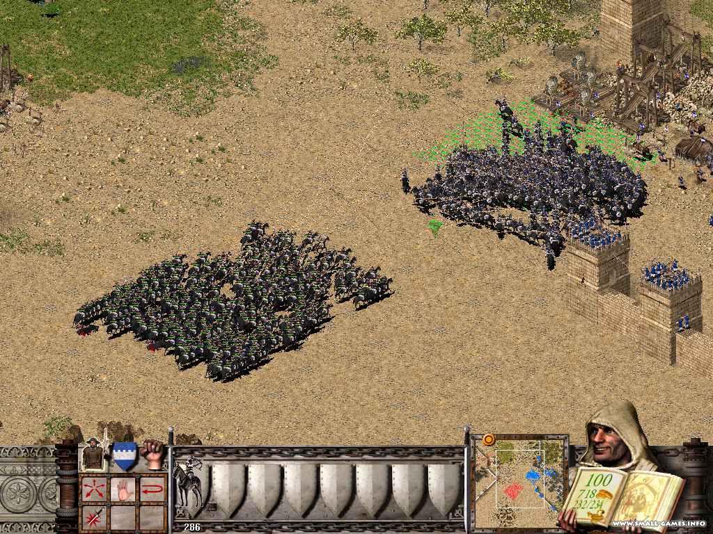 Stronghold: crusader скачать через торрент бесплатно.