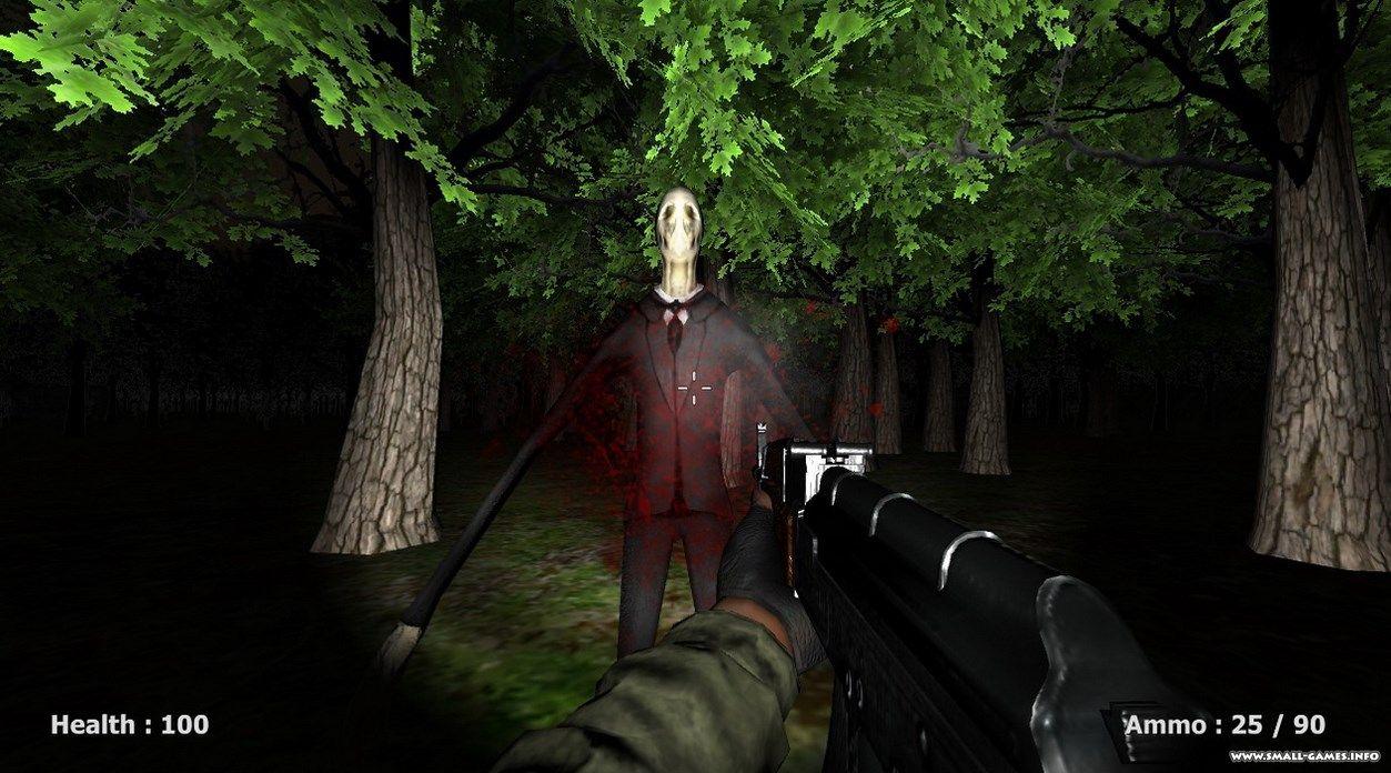 Скачать бесплатно игру на компьютер slender man