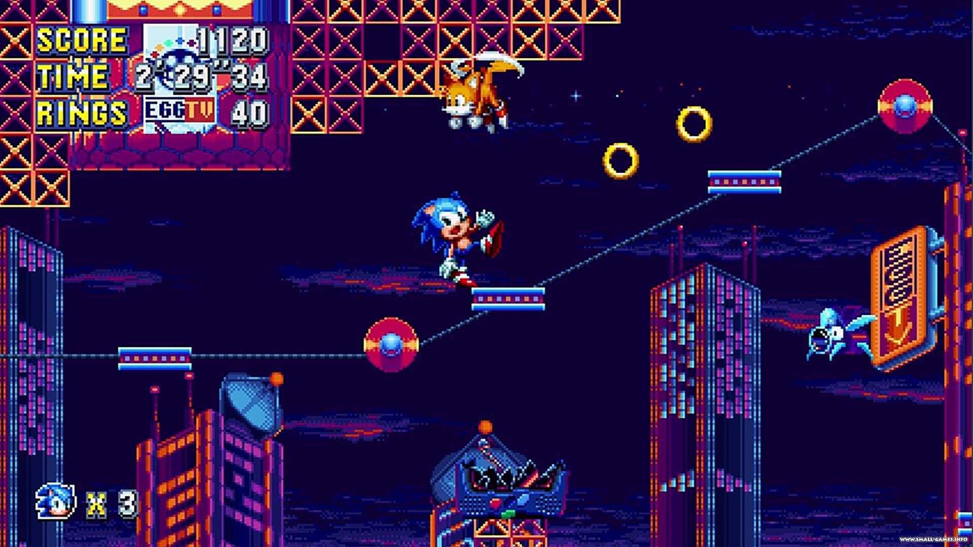 Sonic Mania Plus v1 06 0503 - торрент, скачать бесплатно полную версию