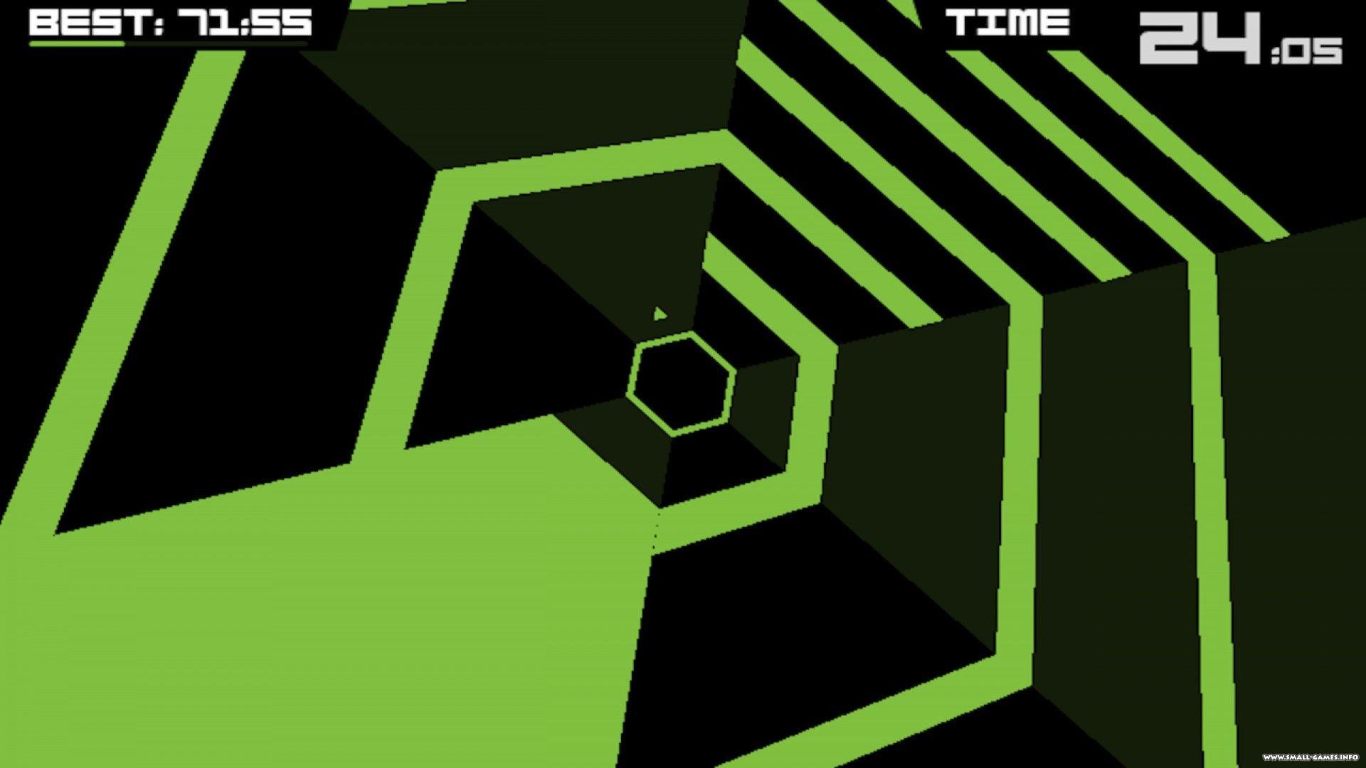 Скачать игру super hexagon на компьютер