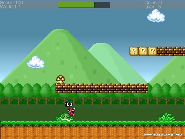 Super Mario Bros 2011 INFINITY - торрент, скачать бесплатно игру