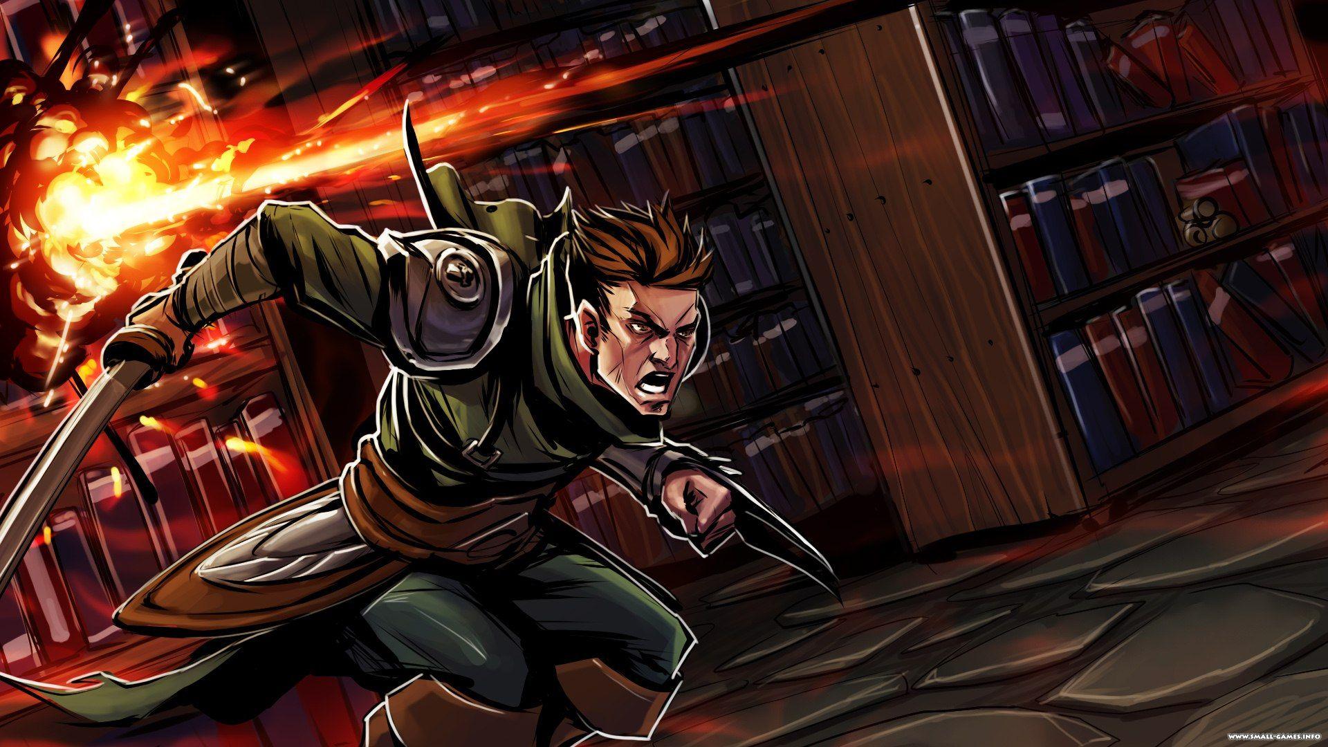 Swordbreaker the game (мечелом) невероятный трейлер!