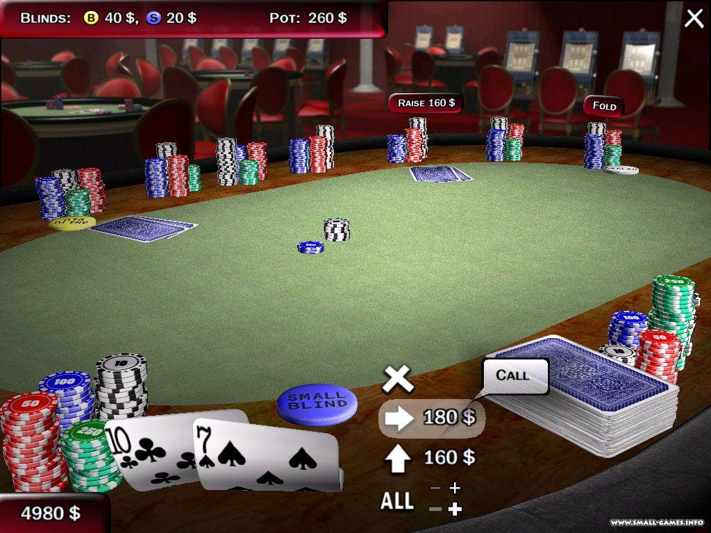 Free download texas holdem poker 3d