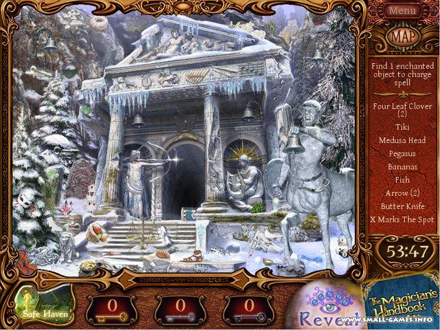 Увеличить скриншот к мини-игре Записки волшебника 2. Темный лорд.