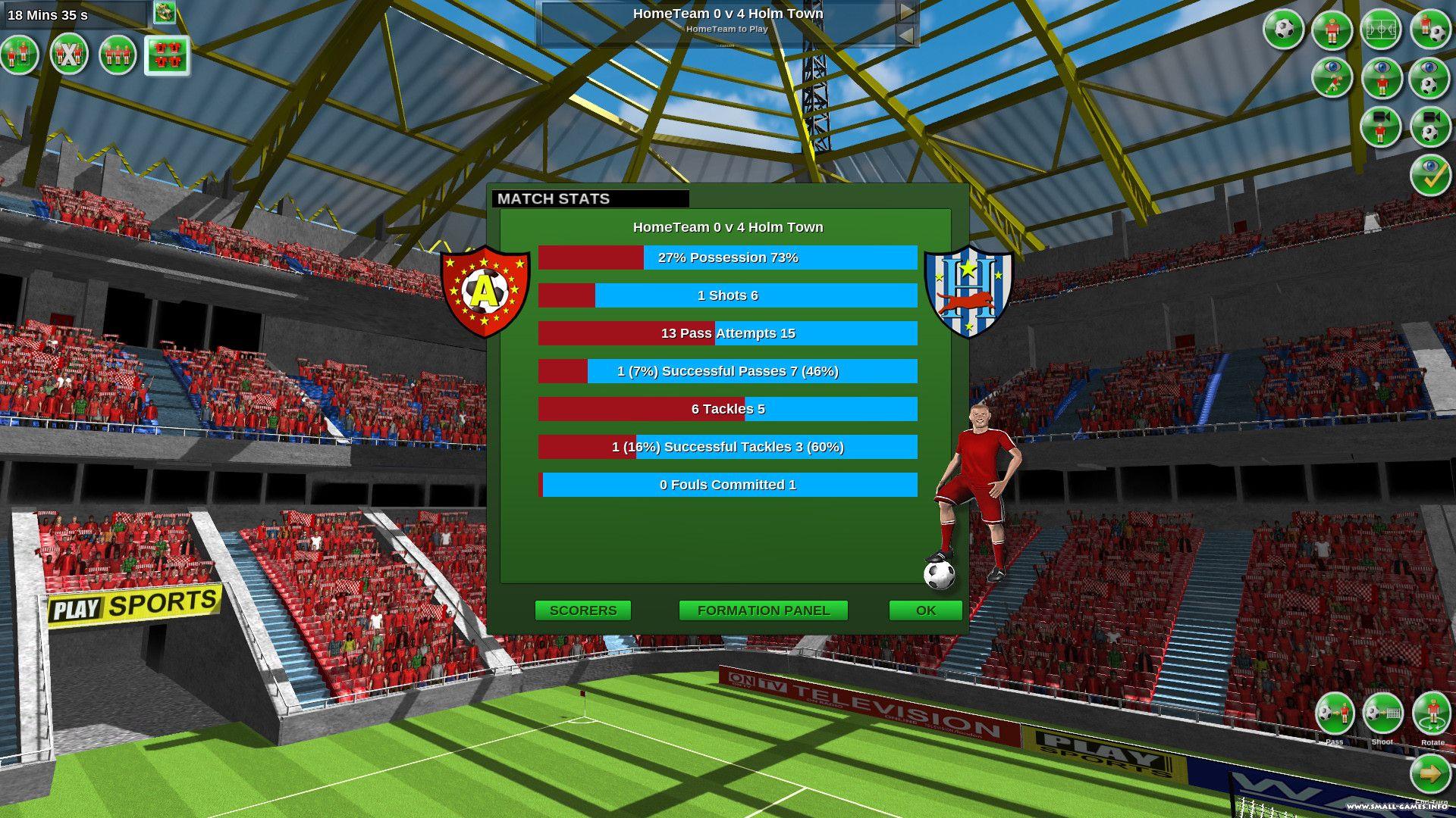карты футбола игра