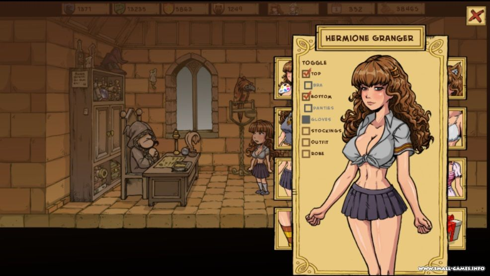 Witch Trainer Game