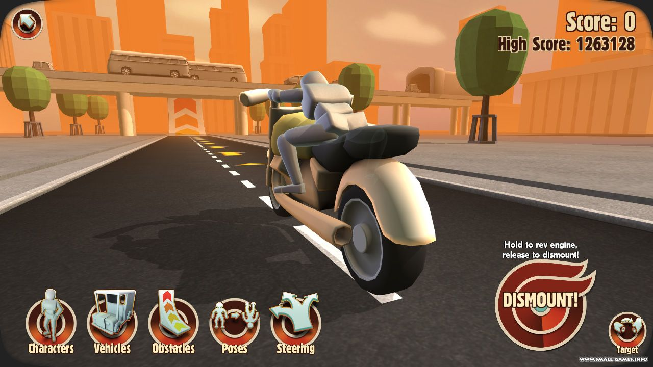 Turbo Dismount is a kinetic tragedy about Mr. Dismount and the cars ...