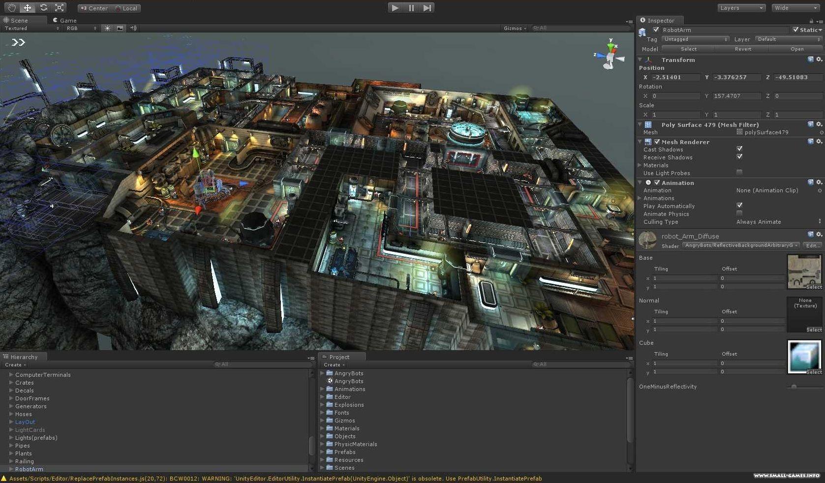 Создание игры на андроид unity3d