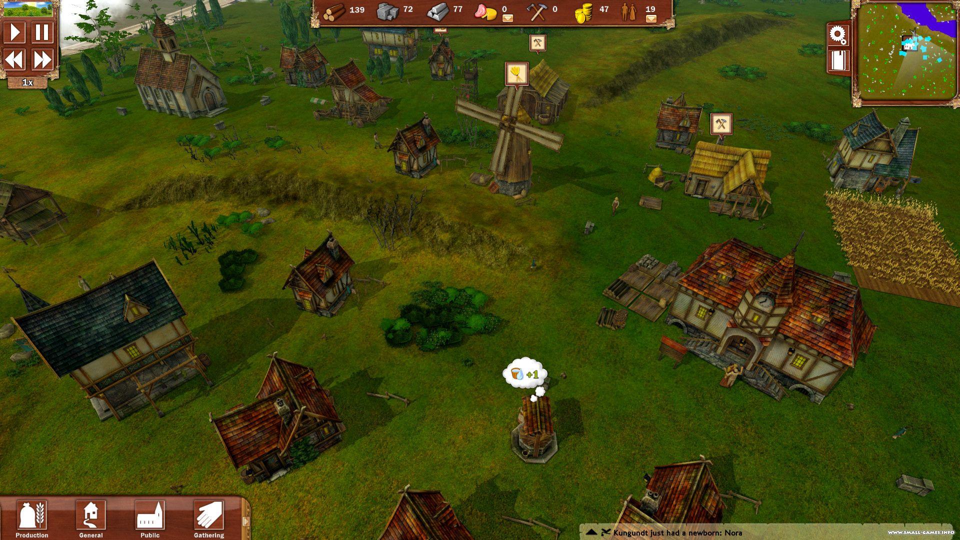 Скачать villagers gameplay.