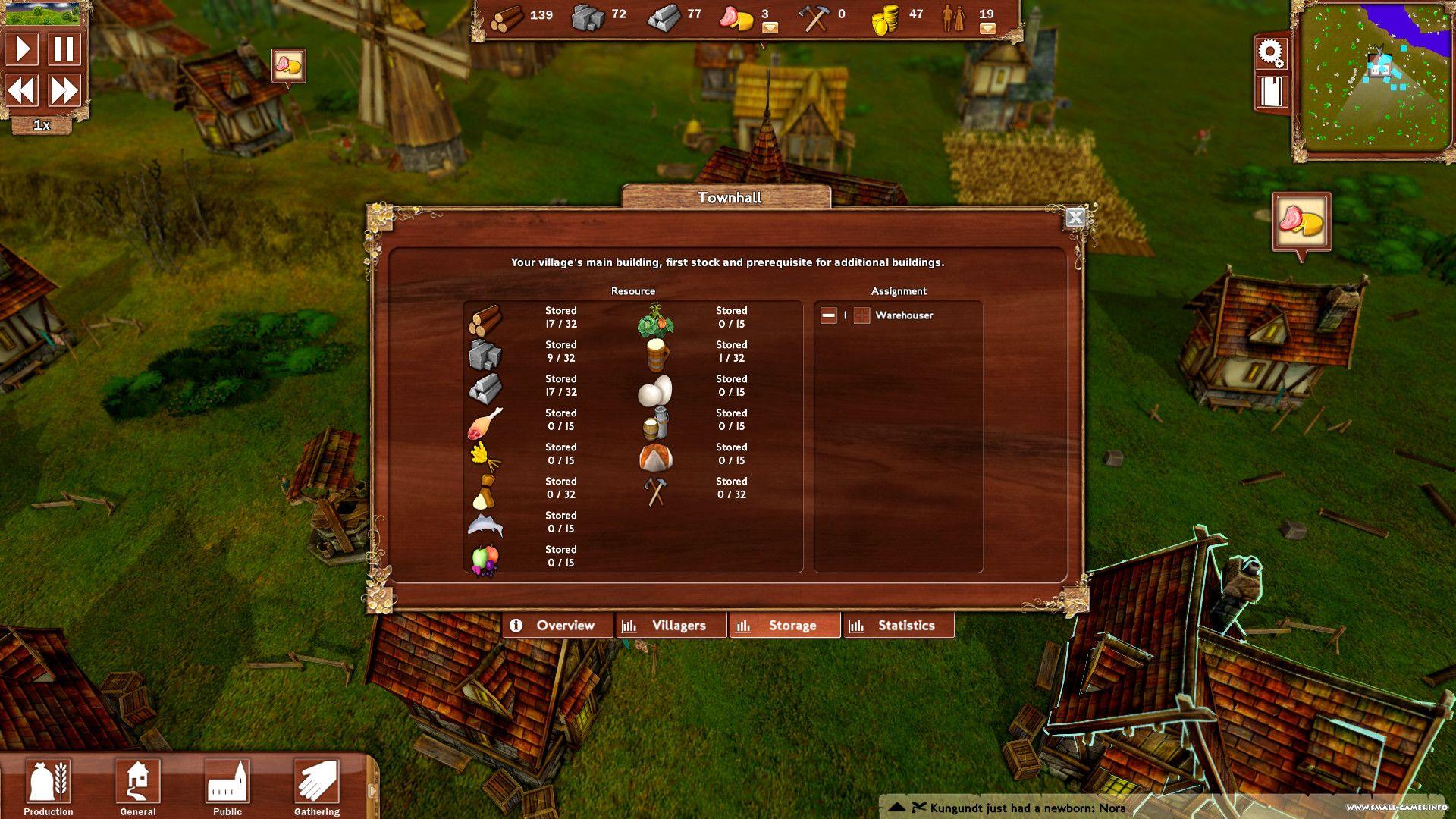 Игра: villagers v1. 100 – торрент.