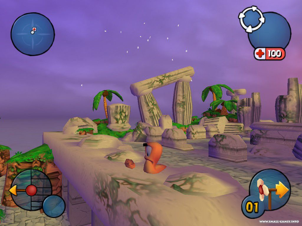 Pics photos worms 3d info worms 3d is a turn based action strategy