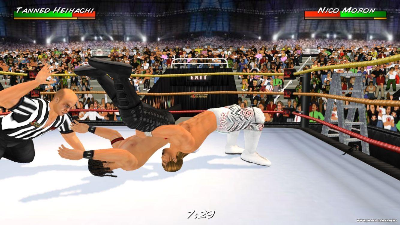 Скачать игру wrestling revolution на компьютер