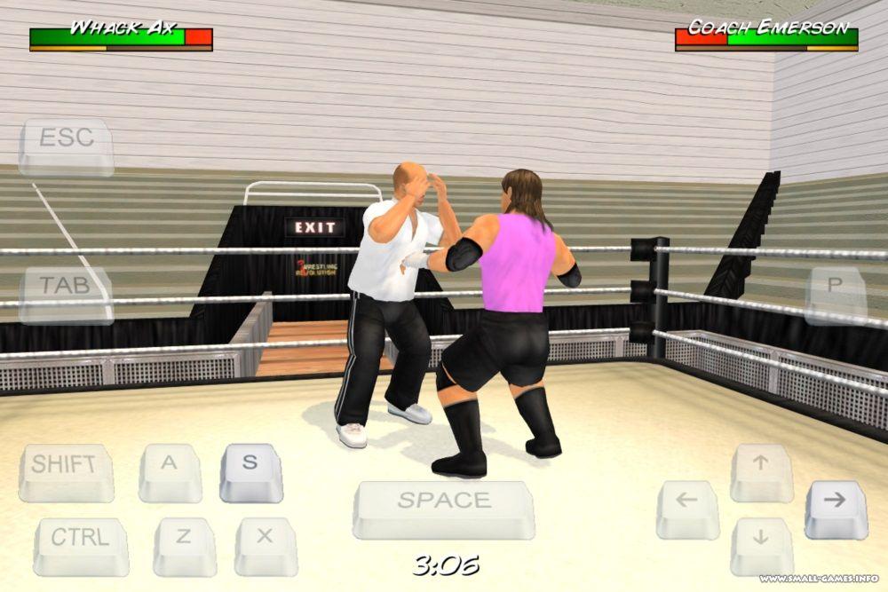 Wrestling Revolution 3D v1 623 - торрент, скачать бесплатно