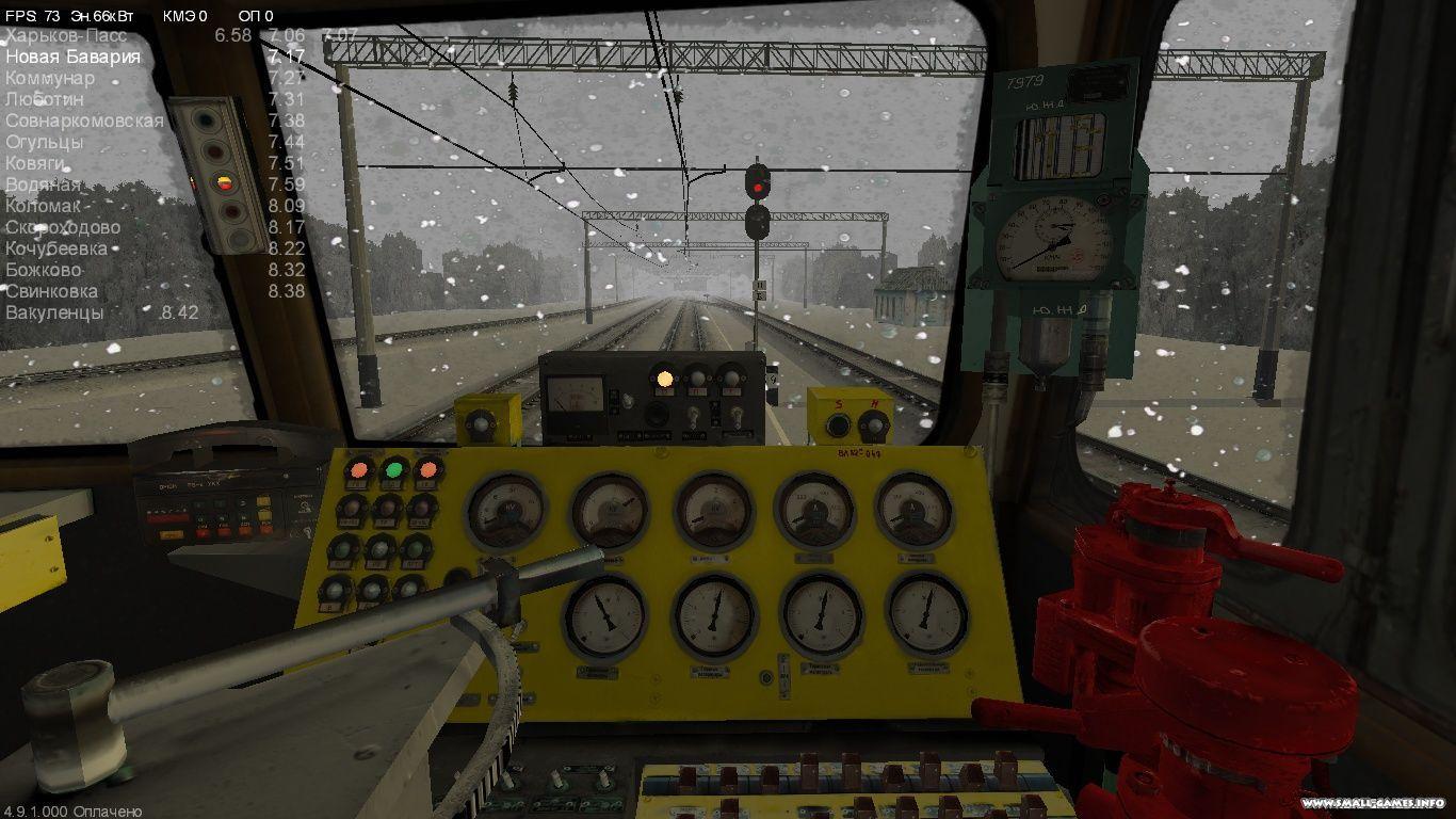 симулятор локомотива вл 10 игра скачать