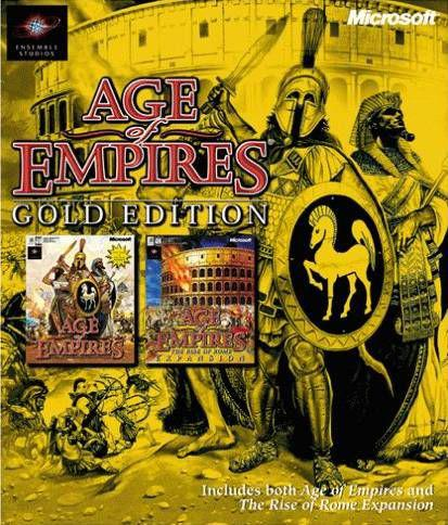 Age of Empires: Gold Edition (AoE + AoE: The Rise of Rome) / Эпоха Империй. Золотая коллекция