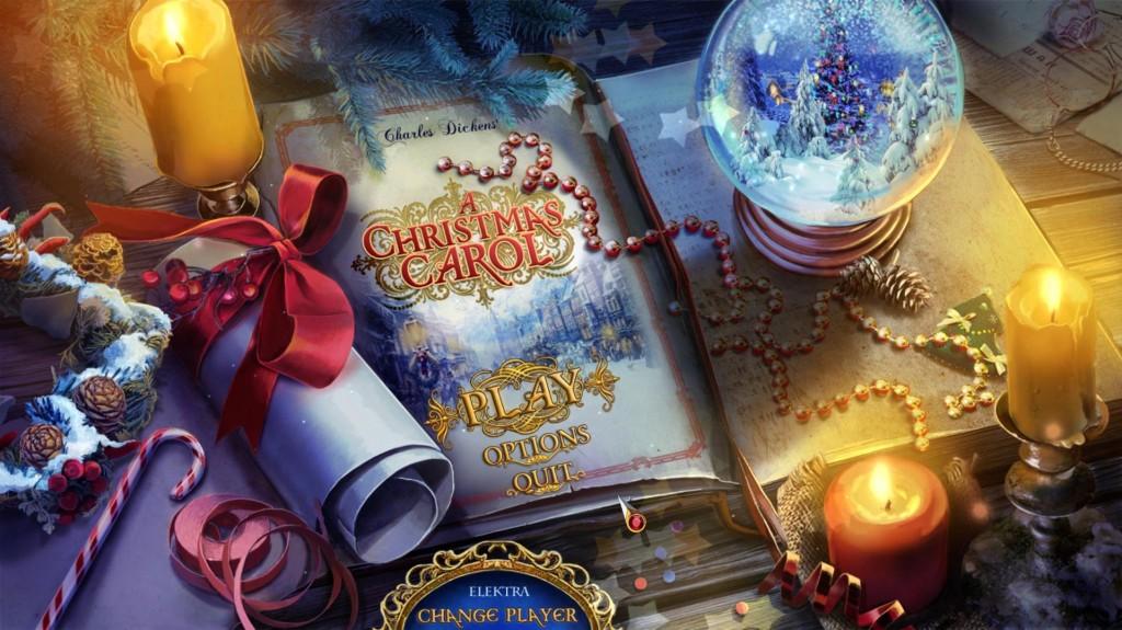 christmas carol thesis