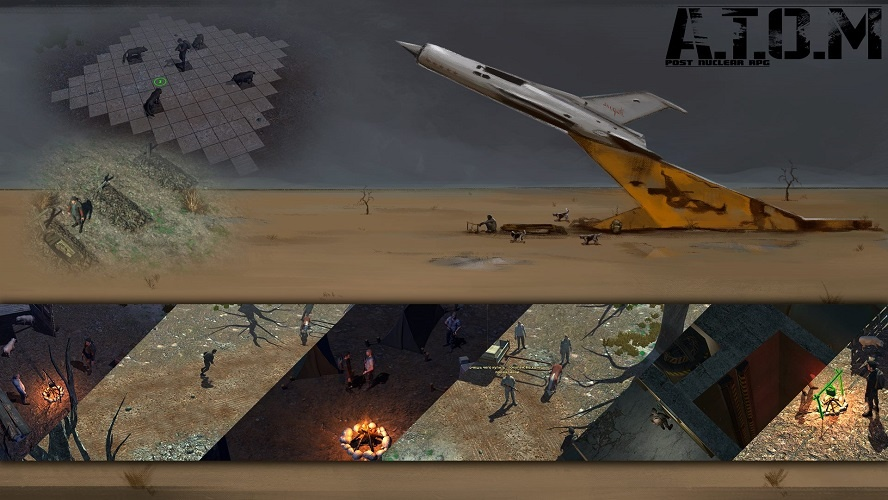 ATOM RPG: Post-apocalyptic indie game / A Post Nuclear RPG A.T.O.M. v0.5.3.5k
