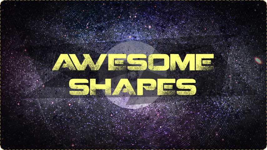 Awesome Shapes v1.0