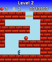 Bounce v3.16 + 21 Level (Symbian 6-8)