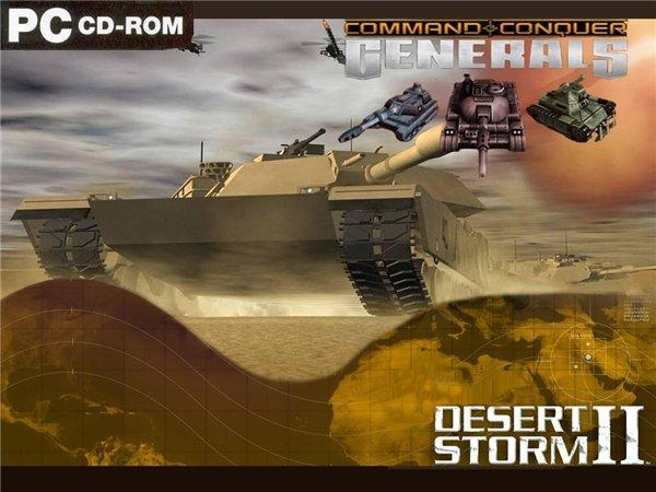 Command and Conquer: Generals Desert Storm 2 v1.1