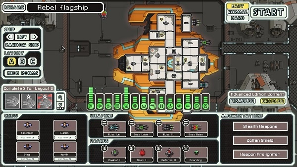 Мод, который добавляет в игру в качестве играбельного корабля флагман повстанцев с которым вы встречаетесь в конце игры.