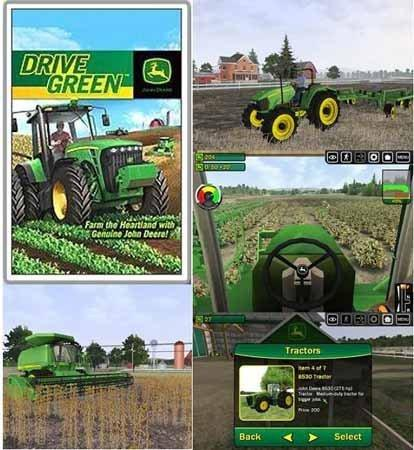 John Deere Drive Green Full Game