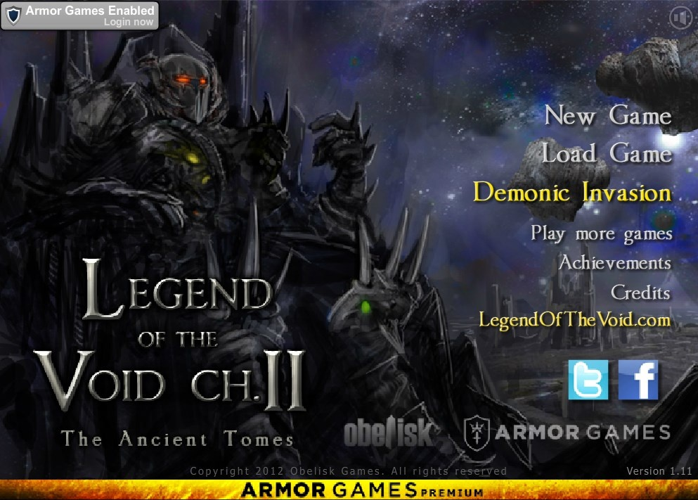 Legend of the Void 2: The Ancient Tomes v1.11 (Premium Version)
