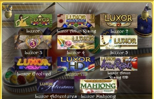Luxor: The King's Collection 11 in 1 (2005-2012)