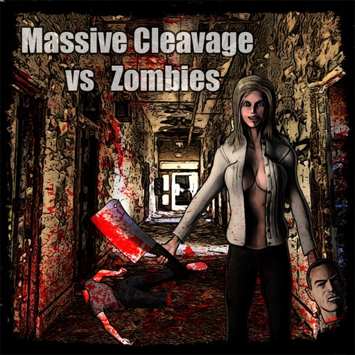 Massive Cleavage vs Zombies. Awesome Edition