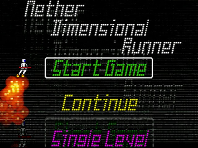 Nether Dimensional Runner v1.1