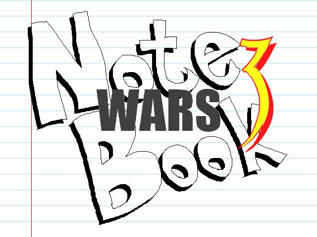 Note Book Wars 3