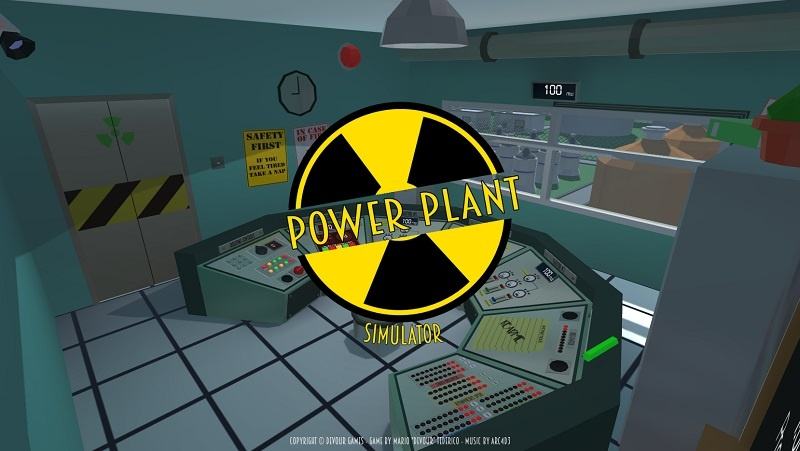 Nuclear Power Plant Simulator v1.0