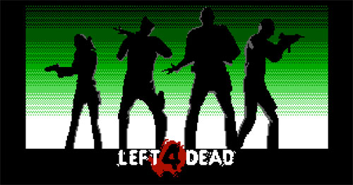 Pixel Force: Left 4 Dead v.1.0